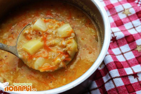 Гороховый суп с перловкой рецепт