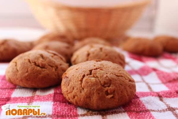 Медовое печенье из ржаной муки