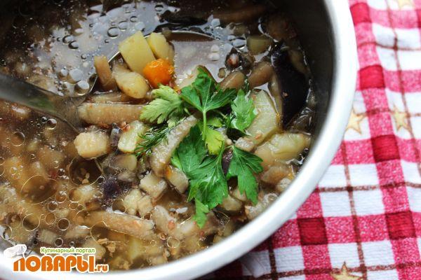 Суп с баклажанами (баклажанный суп)