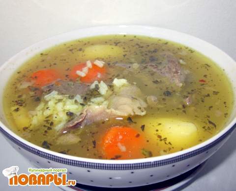 Как приготовить рисовый суп без мяса рецепт
