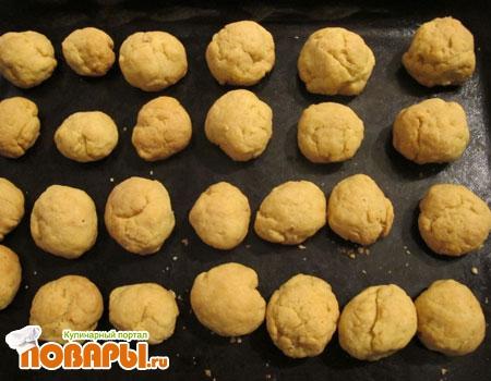 песочно-ореховые печеньки