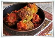 Жаренные овощные шарики (Алу кофта)