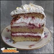 Торт «Клубничный аромат»