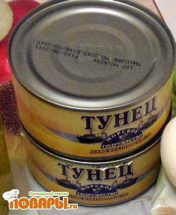 тунец в масле рецепты салатов