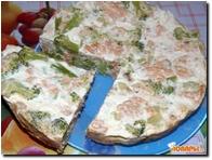 Запеканка с горбушей и брокколи в мультиварке  Запеканка с горбушей и брокколи в мультиварке