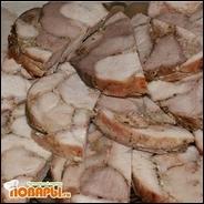 Пресованное мясо (рецепт для ветчинницы)