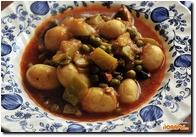 Овощной суп «Весенний» с молодым картофелем  Овощной суп «Весенний» с молодым картофелем