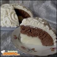 Торт с пудингом
