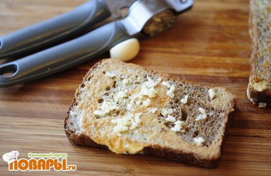 Бутерброд  «Селедка под шубой»
