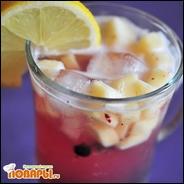 Яблочно-смородиновый лимонад