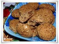 Печенье овсяно-кукурузное с изюмом