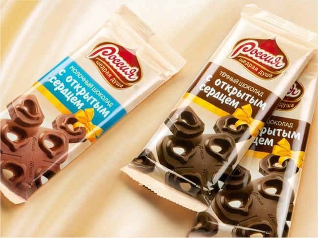 Шоколадные новинки от Nestle
