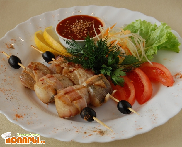 рыба хе из толстолобика по-корейски