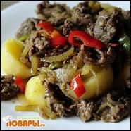 Подлива- вариация «Лагманная» с картофелем