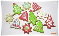 Новогоднее песочное печенье /Christmas Cookies/  Новогоднее песочное печенье /Christmas Cookies/