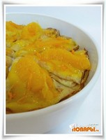 Апельсиновые блины с апельсиновым соусом