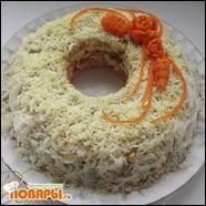 Салат «Слоеное кольцо»