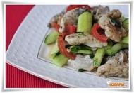 Рыбный салат - Хе (Диета Дюкан) БО