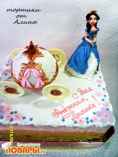 Подарок для золушки торт 43