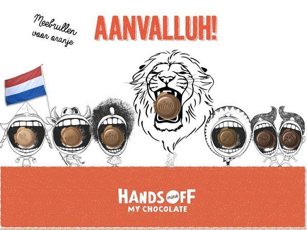 Руки прочь от моего шоколада!