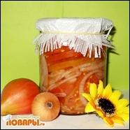 Салат консервированный «Чиполлино и Синьор Помидор»  Салат консервированный «Чиполлино и Синьор Помидор»