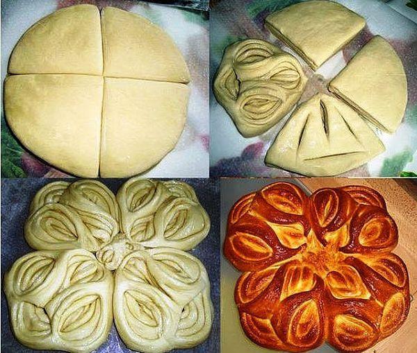 Дрожжевые пироги пошагово