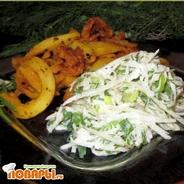 Редисочный салат