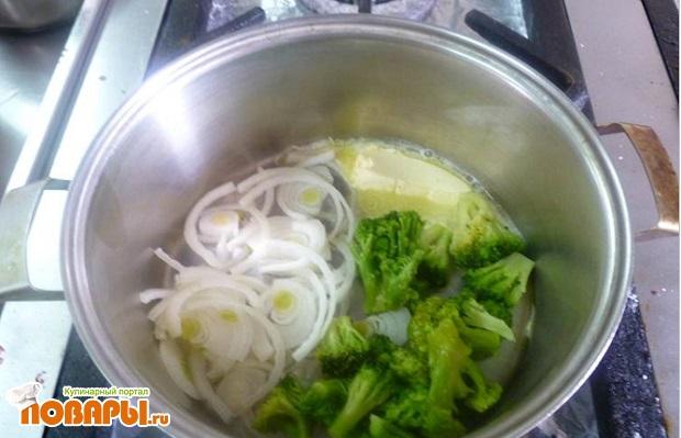 Суп-крем из брокколи «Красная Талка»