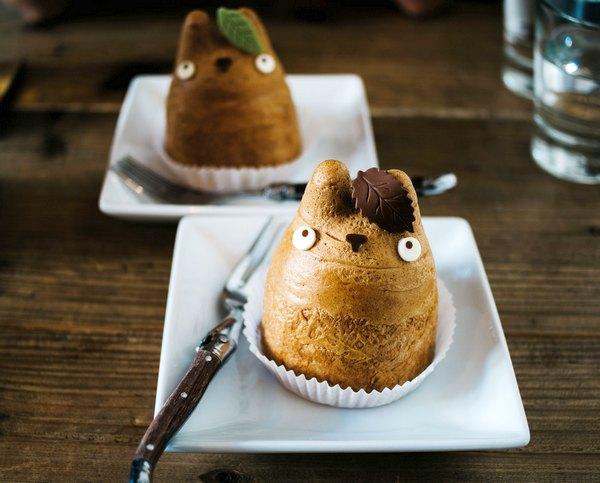 Вкуснейшие пирожные «Тоторо»