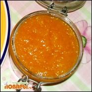 Апельсиновое повидло и цукаты