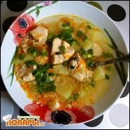 Суп рыбный в мультиварке