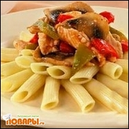 Курица с грибами по-итальянски