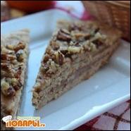 Медовый торт без сахара (постный)