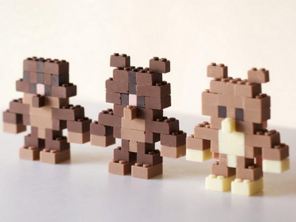 Съедобный Лего-шоколад