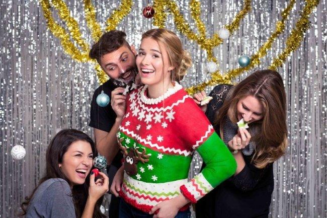 Рождественский свитер из... шоколада!