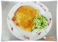 Куриная отбивная в сырной корочке «Красная Талка»