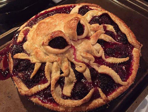 Креативные идеи оформления пирогов