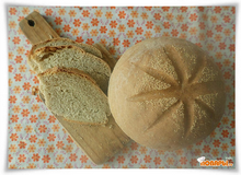 Серый хлеб с амаранто