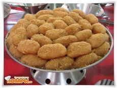 Бенгальские творожные сладости ЧОМ-ЧОМ