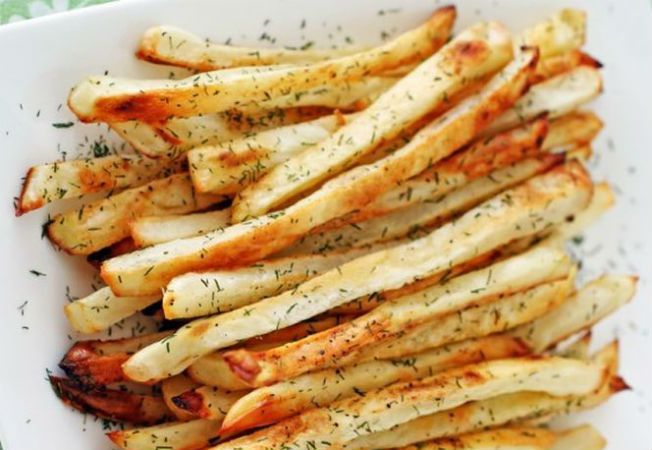 Хрустящий картофель без масла? Это может быть вкусно!