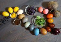 Как красить пасхальные яйца натуральными красителями