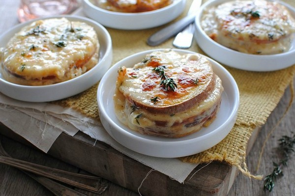 картофель и сыр