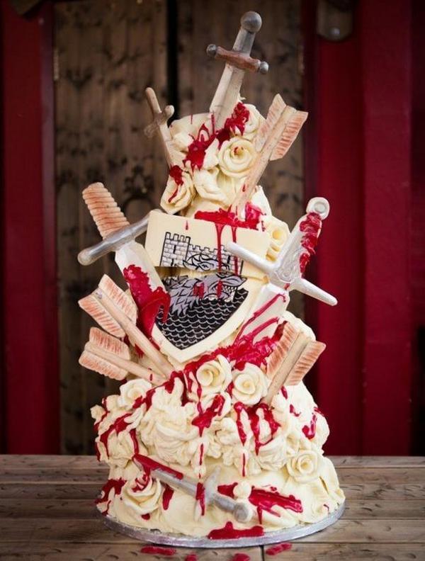 6 самых странных свадебных тортов